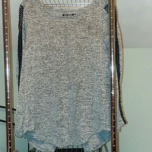 Long sleeves mini dress if you put leggings on wit